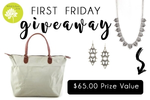 first friday giveaway 2